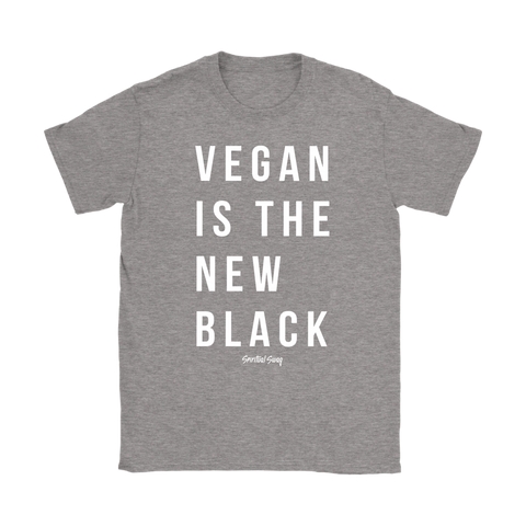 VEGAN IS THE NEW BLACK - Spiritual Swag