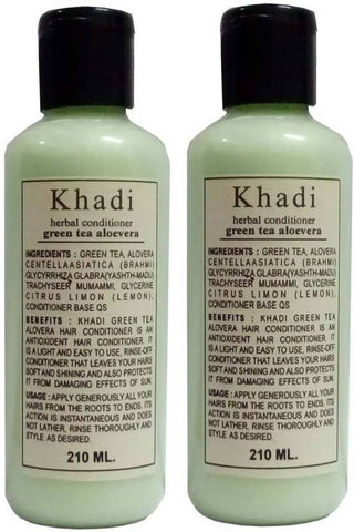 Combo Of Herbal Green Tea & Alovera Hair Conditioner (420 Ml)