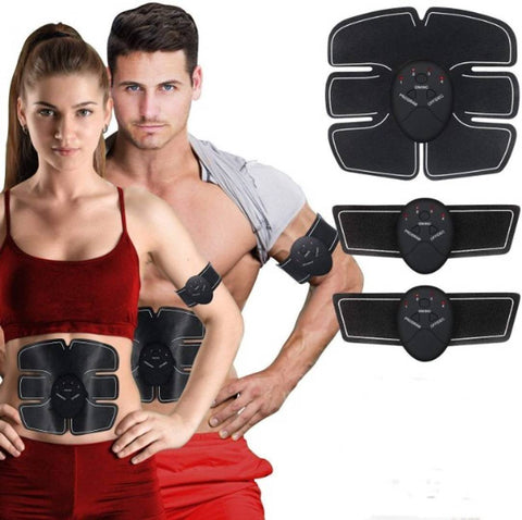 6 pack abs stimulator/Wireless Abdominal and Muscle Exerciser Training Device Body Massager/6 pack abs stimulator charging battery/mart Fitness Abs Maker/Exerciser Training Device Massager