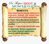 Body & Muscle Gain by Dr. Thapar's Herbal Capsule