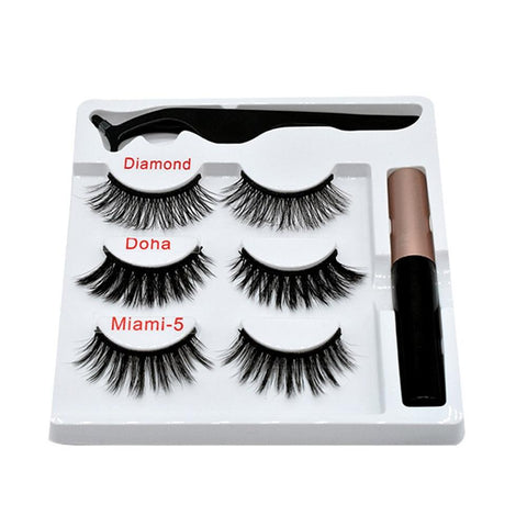 Magnetic False Eyelashes Eyeliner