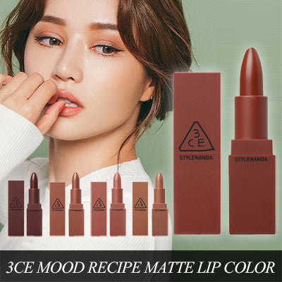 3CE Stylenanda Mood Recipe Matte Lip Color Mini Kit 5 Pieces
