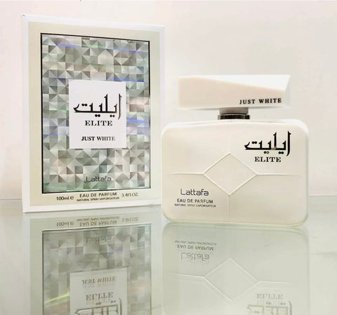 Elite Just White by Lattafa Perfume Oil