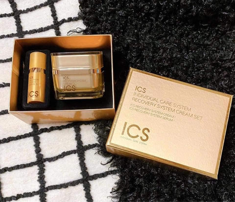 ICS Recovery System Cream and Serum