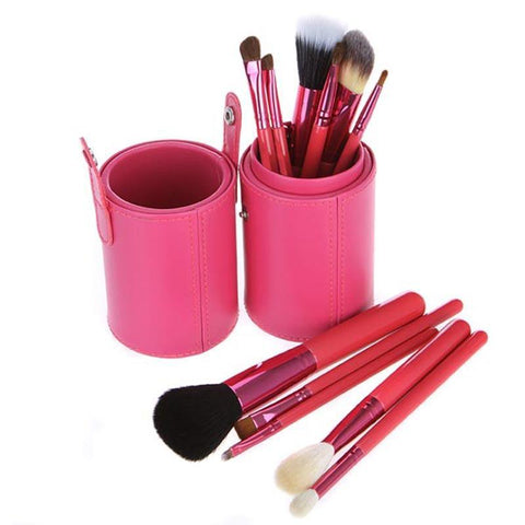 OH Fashion Makeup Brushes Fantasy Pink