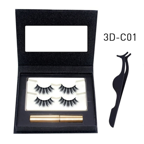 Hot Magnetic Eyelash Set