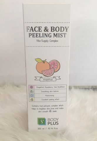 BODYPLUS FACE & BODY PEELING MIST