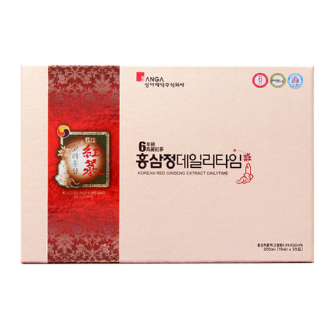 Korean Red Ginseng Extract Daily Time