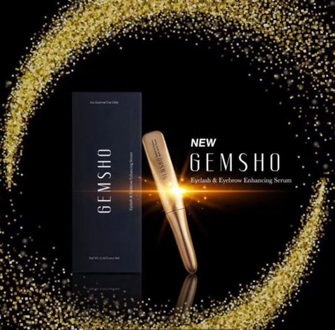 Gemsho Eyelash Eyebrow Enhancing Serum