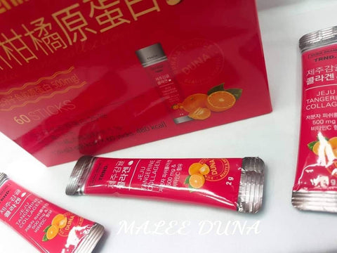 JEJU Tangerine Collagen