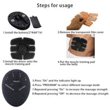 Smart Muscle Trainer Fat Burning Massager
