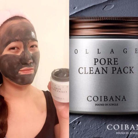 Coibana Collagen Pore Clean Pack 100g Wash Off Mask