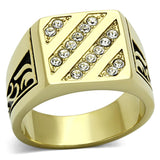 Gold(Ion Plating) Stainless Steel Ring