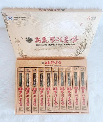 Korean Honey Red Ginseng