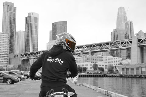 San Francisco Old English The CIty Hoodie