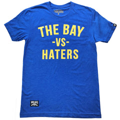 The Bay vs Haters Tee - Warriors Blue