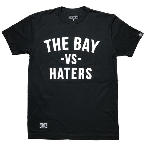 'The Bay vs Haters' Tee - Black