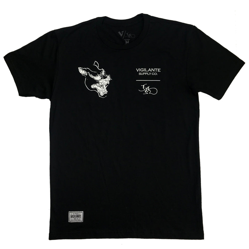 Joey Armstrong | Winged Panther Premium Tee - Black