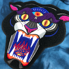 Panther Chenille Patch