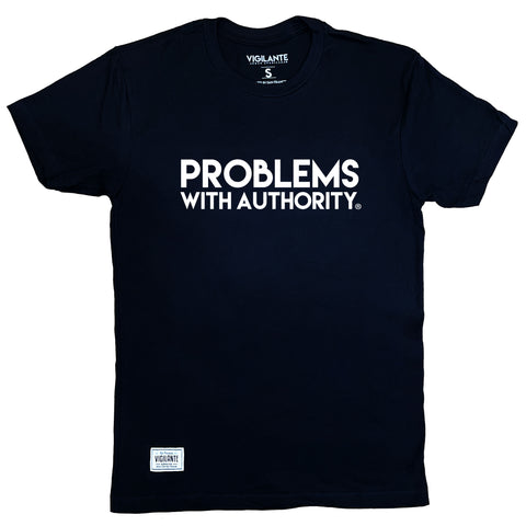 Problems With Authority Tee - Black