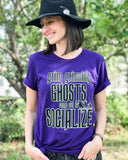 GRIM- PURPLE UNISEX TEE