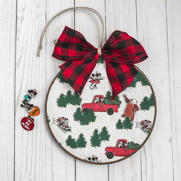 Tree Farm Mickey Pin Display Board