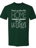 HOME UNISEX TEE- FOREST GREEN