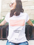 Fantasyland Game Distressed Tee