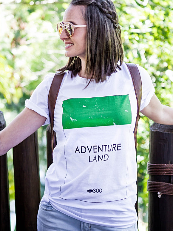 Adventureland Game Distressed Tee