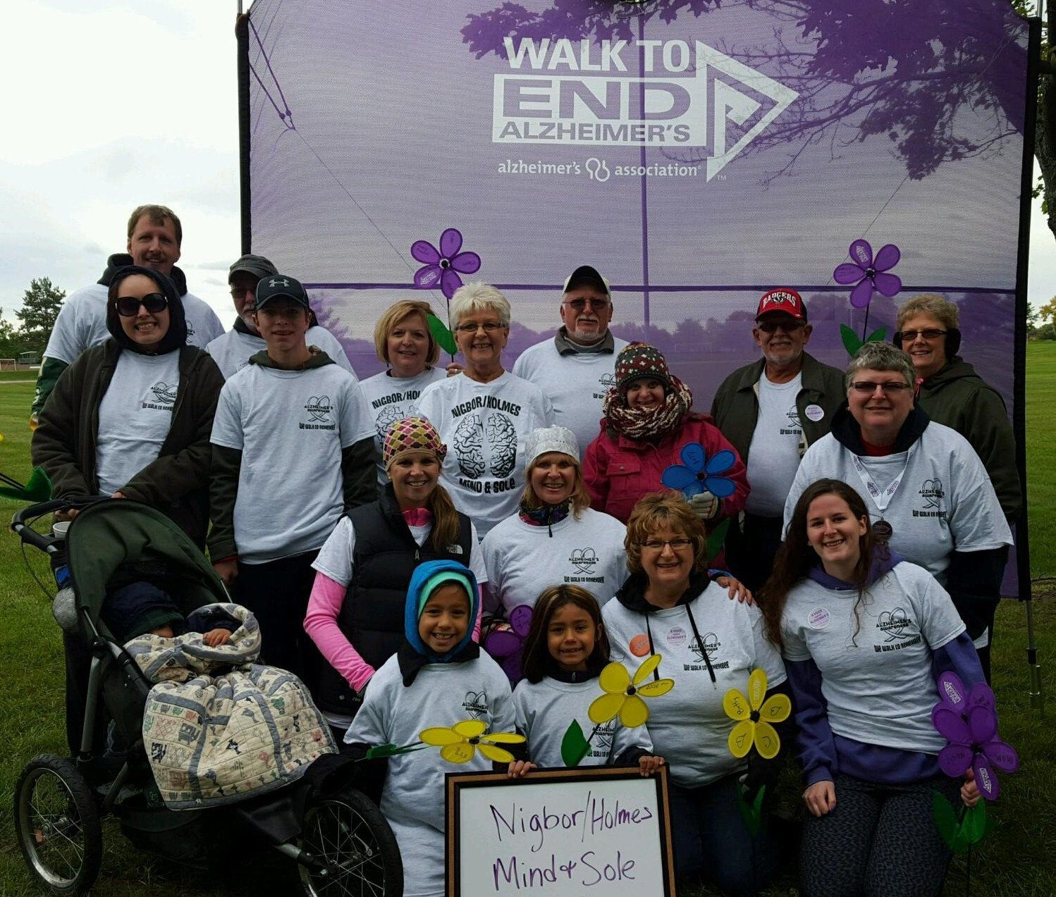 Nigbor/Holmes Mind & Sole-- Walk to End Alzheimers