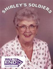 Shirley's Soldiers Walk to End Alzheimer's