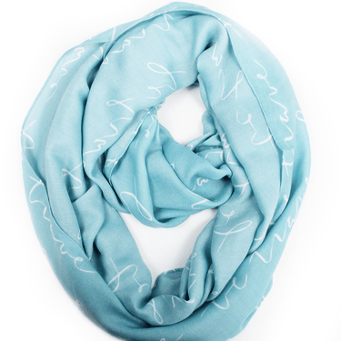 Forever Brave Infinity Scarf