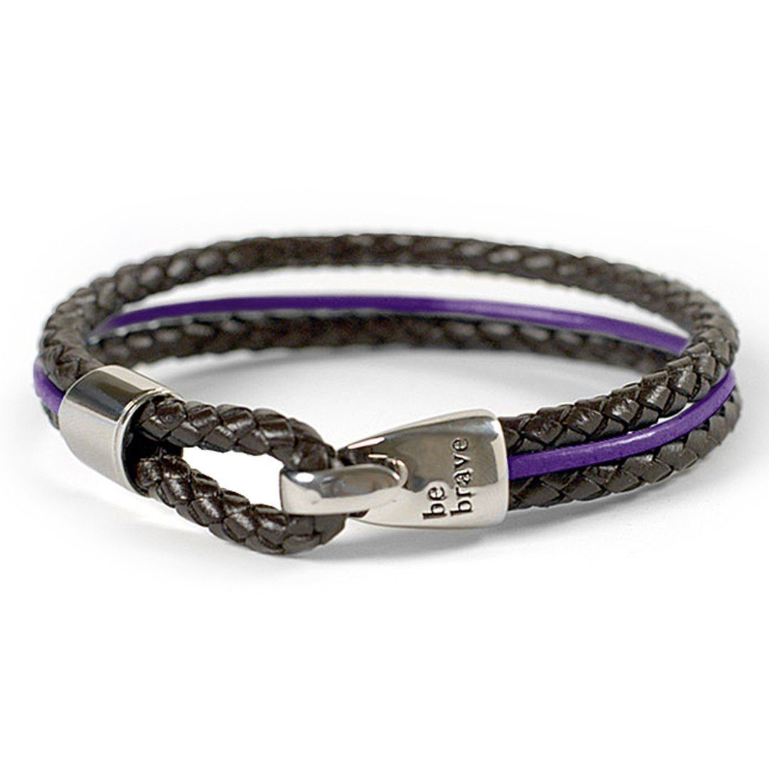 Braided Leather Bracelet