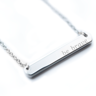 Signature Bar Necklace