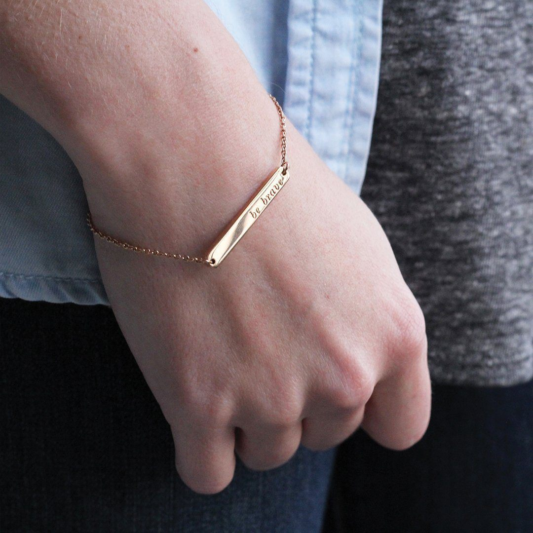 Signature Bar Bracelet & Necklace