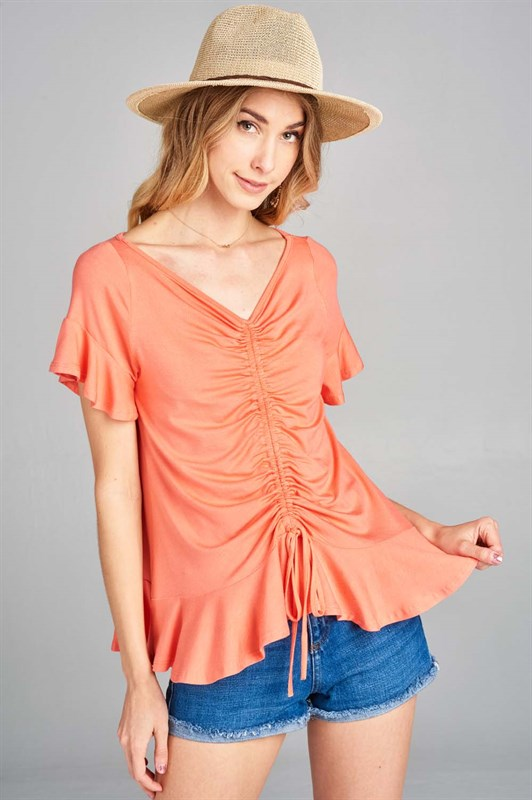 Summer Ruched Top