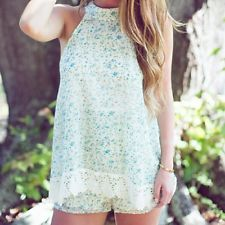 Judith March Floral Romper