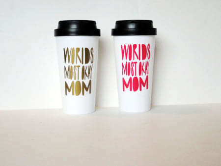 World's Most Okay Mom Tumbler