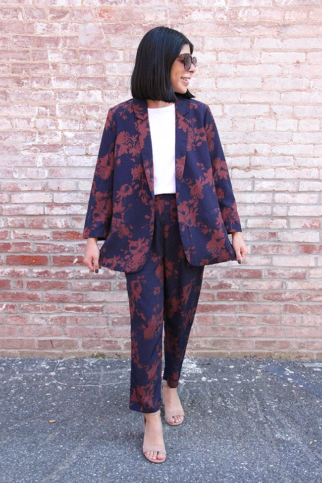 How To Style A Pant Suit 3 Ways