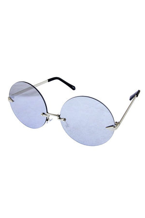 Boho Chic Rimless Round Sunglasses - More colors