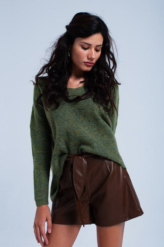 Must Have Knit High Low Sweater