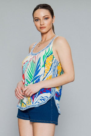 Final Sale - Colorful Tank Top