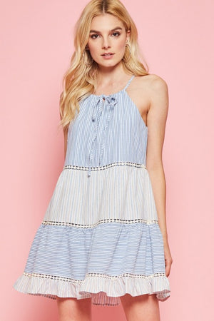 Summer Strip Dress