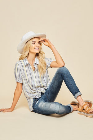 Final Sale - Button Down Top