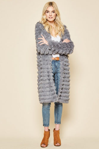 Trendy Fur Coat