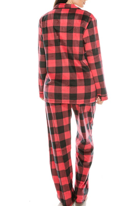 Buffalo Plaid Pajamas Set