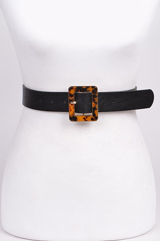 Printed Buckle Belt