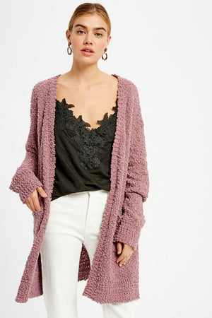 Nicole Taylor Boutique - Women's Fall Fashion Trends - Two Pocket POPcorn Cardigan
