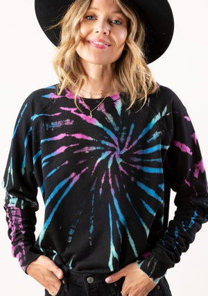 Colorful Tie Dye Sweater