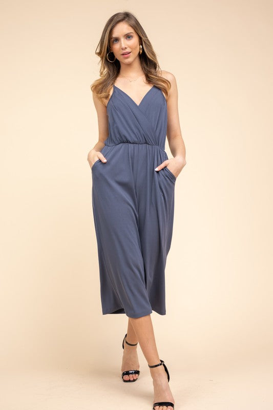 Hanna Cropped Jumpsuit